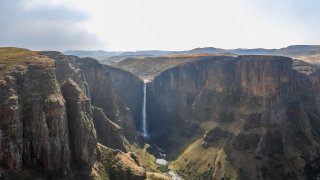 chutes de Maletsunyane - voyage lesotho - terra south africa