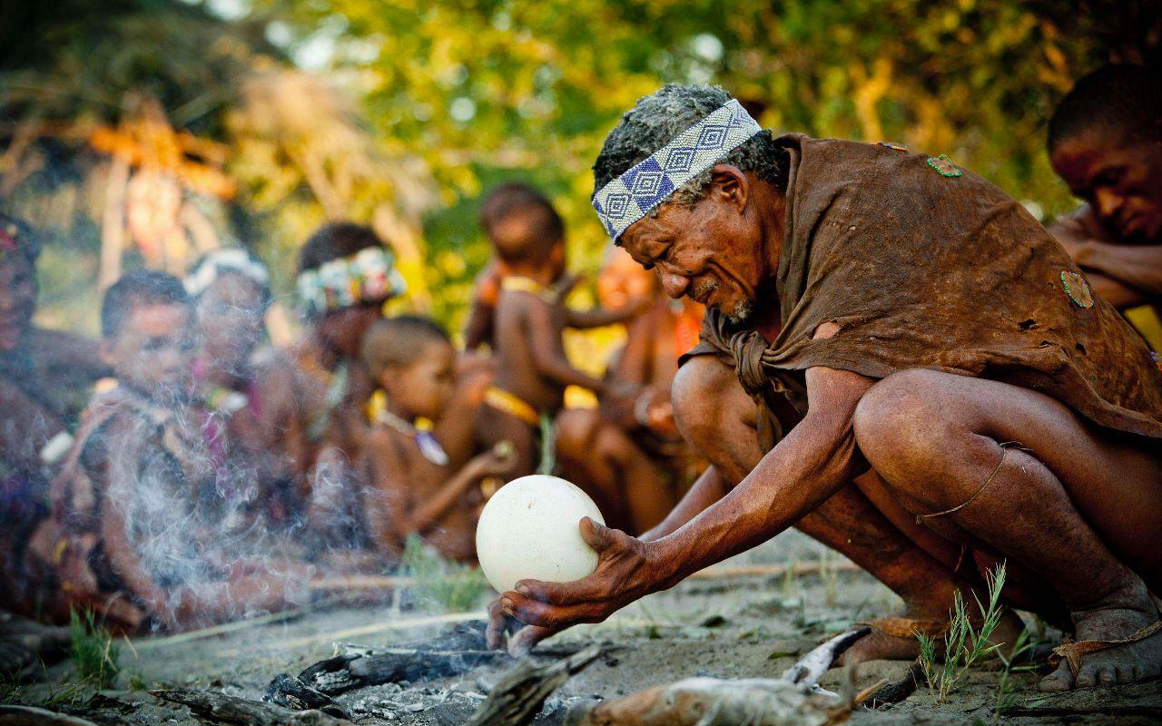 Bushman en Afrique du Sud - voyage terra south africa