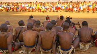 Danse des roseaux au Swaziland