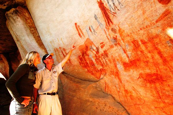 Art rupestre San - afrique du sud voyage - terra south africa
