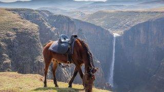 randonnée équestre lesotho - voyage terra south africa