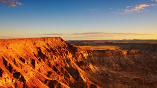 Fish River Canyon - voyage namibie - terra south africa