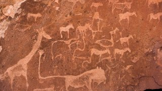 art rupestre san - Twyfelfontein - afrique du sud - terra south africa