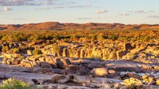 Route vers Upington - voyage namibie et afrique du sud - terra south africa