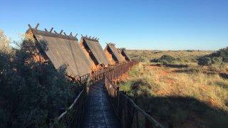 communautés locales Khomani San et Mier - voyage Parc Transfrontalier du Kgalagadi - terra south africa
