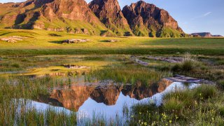 Parc National Sehlabathebe - voyage lesotho - terra south africa