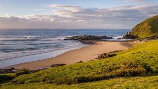 plage sauvage ocean indien - voyage afrique du sud - terra south africa