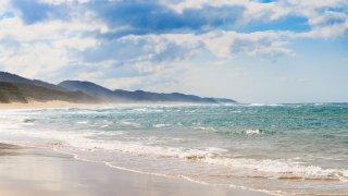 plage de Cape Vidal - lune de miel en afrique du sud
